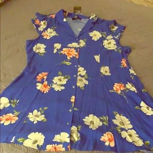 Forever 21 Dresses - NWT Forever 21 Floral Button Down Dress